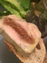 Foie gras figues et Porto