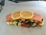 papillotes saumon aux légumes